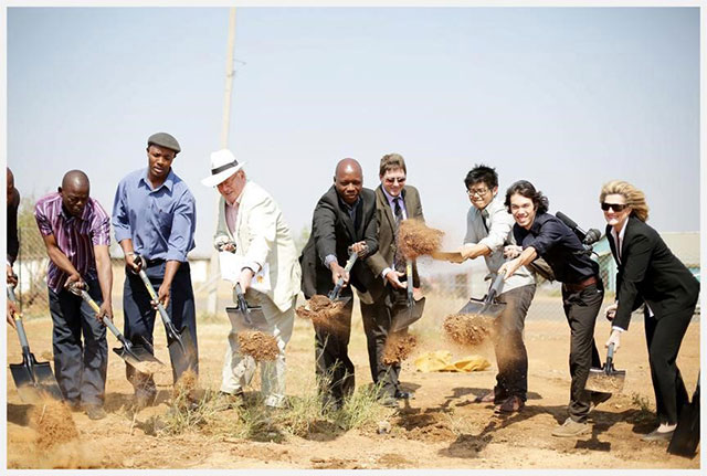 Groundbreaking Ceremony Soweto Community Education Campus